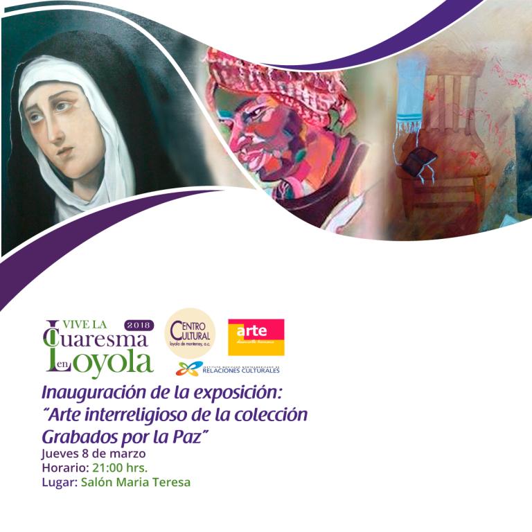 "Arte Interreligioso ""Grabados por la Paz"""